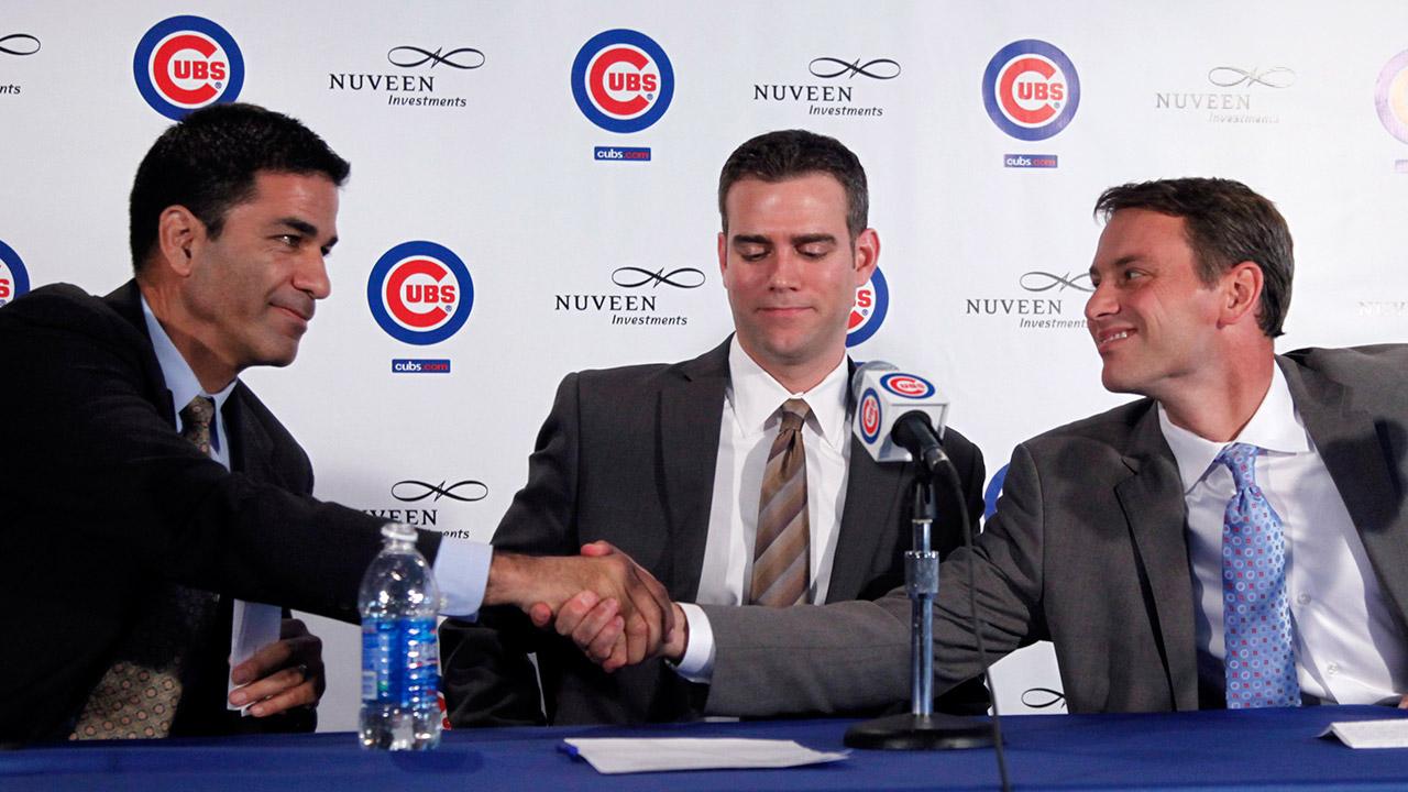 Cubs extend Hoyer, McLeod through 2021