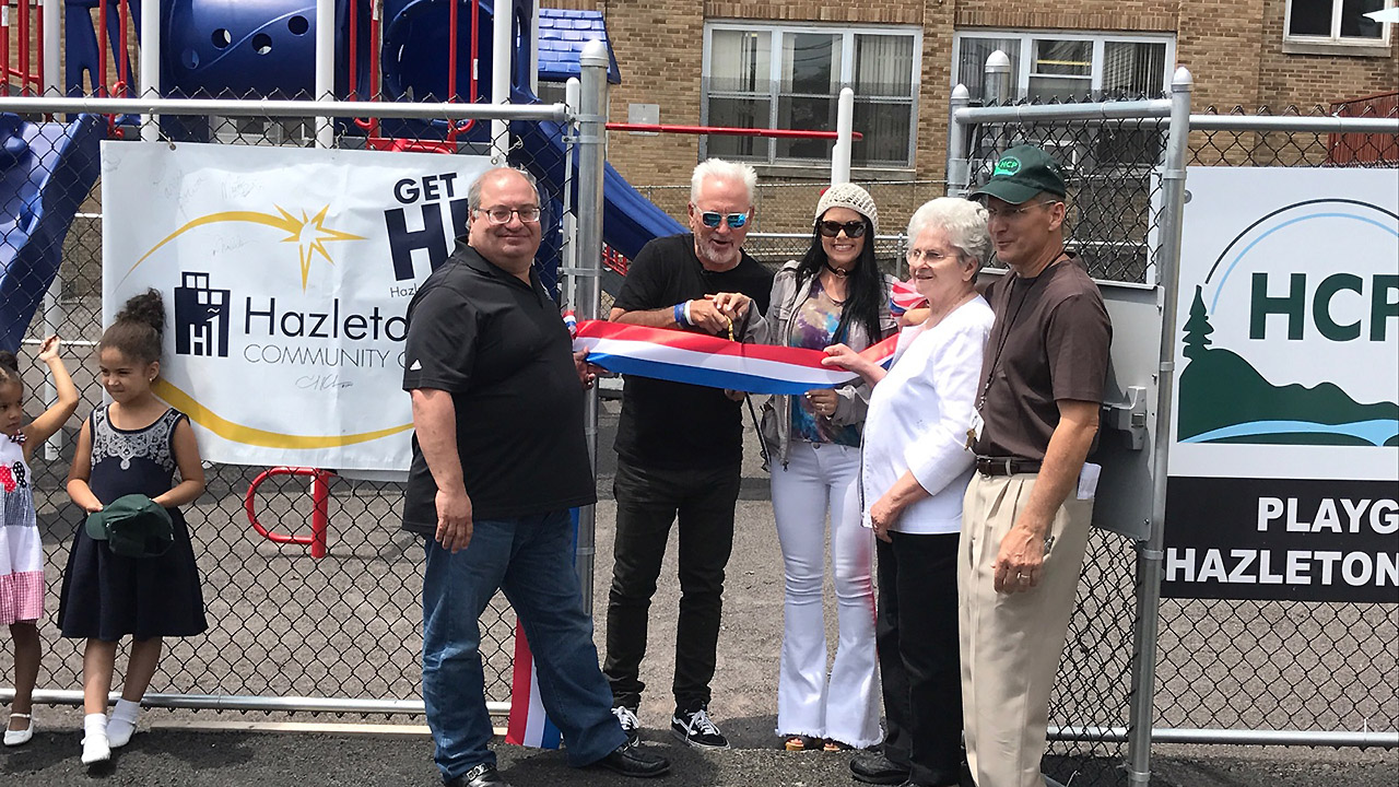 Maddon on hand to dedicate HIP playground