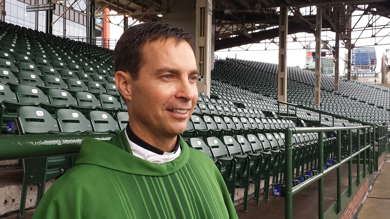 Montero joins mass at Wrigley to give thanks